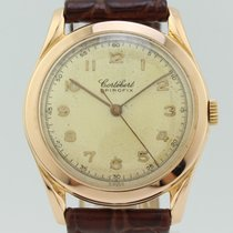 Cortébert Yellow gold 32mm Manual winding pre-owned
