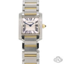 Cartier Tank Française | Ladies Steel and Gold | W51007Q4