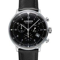 Junkers Bauhaus 6086-2 Quartz Watch With Swiss Ronda Movement...