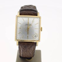 Zenith Respiratore Square Vintage (1964) GoldPlated Automat...
