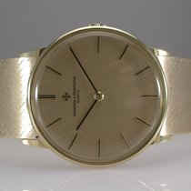 Vacheron Constantin Vintage 18k Yellow Gold Watch With Gold...
