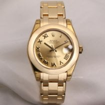Rolex Pearlmaster Ouro amarelo 34mm