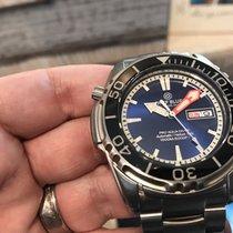 Deep Blue Automatic Pro Aqua 1500m Diver Blue Dial – Sold Out...