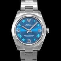 Rolex Oyster Perpetual 31 Stahl 31mm Blau