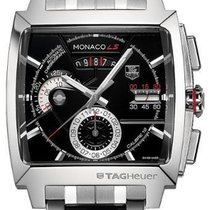 TAG Heuer Monaco LS Chronograph 40.5mm CAL2110 Stainless Steel...