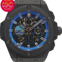 Hublot Cronógrafo 51mm Automático 2012 usados King Power Negro