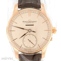 Moritz Grossmann ATUM Or rose 41mm Argent
