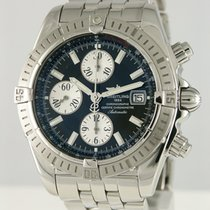 Breitling Chronomat Evolution Stål 42mm Svart