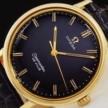 Omega Seamaster DE VILLE solid gold 18K 1964 Black