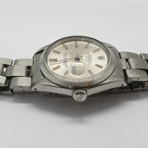 Rolex 34mm Automatisk 1971 brukt Oyster Perpetual Date Sølv