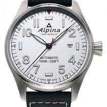 Alpina Startimer Pilot Automatic Acier 44mm Blanc France, Bordeaux