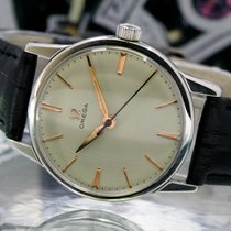 Omega pre-owned Manual winding 32mm Plexiglass