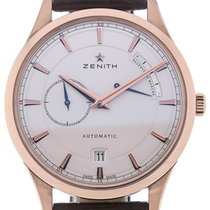 Zenith Rose gold Automatic Silver 40mm new Elite Power Reserve