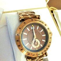 Versace Chronograph 42mm Quartz 2011 new Bronze