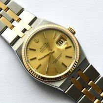 Rolex Datejust Oysterquartz gebraucht 36mm Gold/Stahl