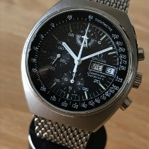 Omega Speedmaster Day Date Steel 42mm Black No numerals