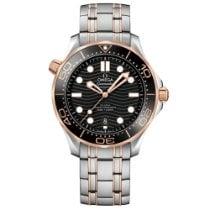 Omega Seamaster Diver 300 M Gold/Steel 42mm Black No numerals United States of America, Florida, Boca Raton