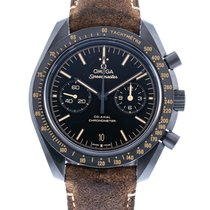 Omega Ceramic Automatic Black 44mm pre-owned Speedmaster Professional Moonwatch