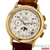 Zenith 0240 410 Yellow gold 1999 40mm pre-owned