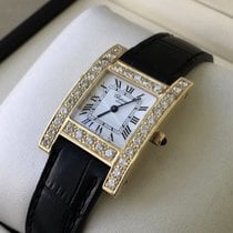 Chopard Your Hour Geelgoud 26mm Wit Romeins