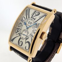 Franck Muller Long Island Yellow gold 45mm Silver Arabic numerals United States of America, California, Los Angeles