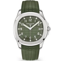 Patek Philippe Aquanaut White gold 42.2mm Green United States of America, New York, New York