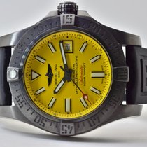 Breitling Avenger II Seawolf Steel 45.4mm Yellow Arabic numerals