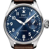 IWC Big Pilot Ocel 46.2mm Modrá Arabské