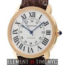 Cartier Ronde Solo De Cartier Extra Large 42mm 18k Rose Gold...