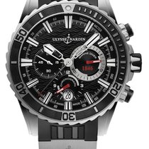 Ulysse Nardin Diver Chronograph Steel 44mm Black United States of America, New York, Airmont