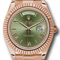 Rolex Rose gold Automatic new Day-Date 40