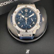 Hublot Big Bang Steel Blue Diamonds