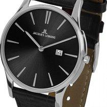 Jacques Lemans Classic London Acero 40mm Negro