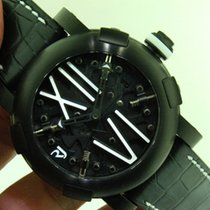 Romain Jerome Steampunk Ref. RJ.T.AU.SP.005.01 Men's PVD Watch...