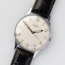 Tavannes NOS Art Deco Silver Dial