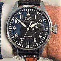 IWC IW500901 Big Pilot 46mm Black Dial Date Discontinued