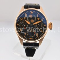 IWC Rose gold Automatic pre-owned Big Pilot