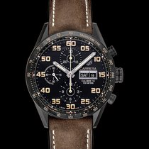 TAG Heuer Carrera Calibre 16 Titanium 43mm Black United States of America, California, San Mateo