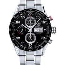 TAG Heuer Carrera Calibre 16 Steel 43mm Black