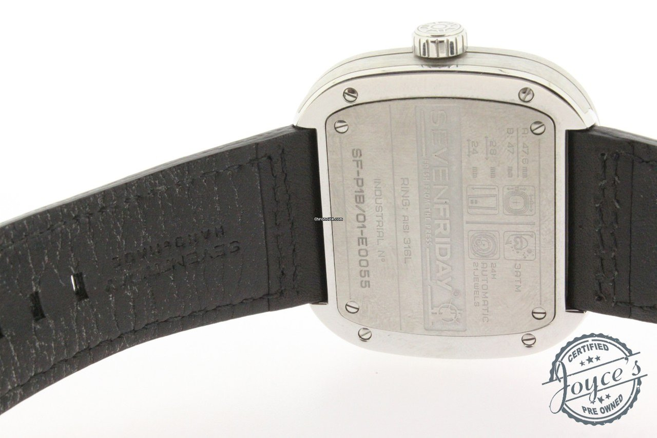 Sevenfriday P1b 1 For C 866 Sale From A Seller On Chrono24 Silver