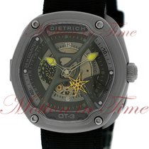 Dietrich Organic Time 3, Sun Brushed Grey Multi-Layered Dial -...