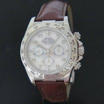 Rolex Daytona Whitegold 16519