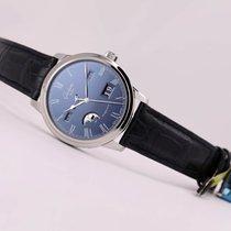 Glashütte Original Senator Perpetual Calendar Steel Blue Dial...
