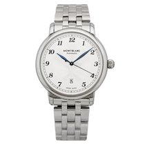 Montblanc Steel 39mm Automatic 117323 new