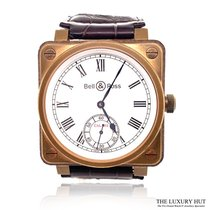 Bell & Ross Titanium Manual winding White Roman numerals 46mm pre-owned BR 01