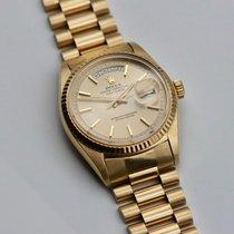 Rolex Day-Date 36 Geelgoud 36mm Geen cijfers Nederland, Sevenum
