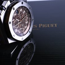 Audemars Piguet Royal Oak Offshore Chronograph Steel 42mm Brown Arabic numerals Canada, Ontario, thornhill