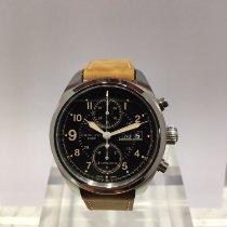 Hamilton Khaki Field nuevo Automático Cronógrafo Reloj con estuche y documentos originales H71616535