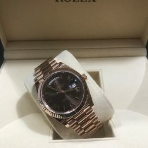 Rolex Day-Date 40 Roségold 40mm Braun Deutschland, Walsrode