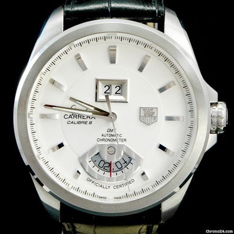 182b12100dc5f TAG Heuer Grand Carrera - all prices for TAG Heuer Grand Carrera watches on  Chrono24